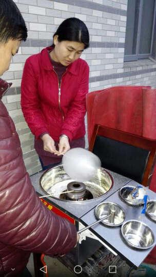 纳丽雅 棉花糖机商用燃气全自动花式拉丝彩色棉花糖机器 商用棉花糖机 晒单图