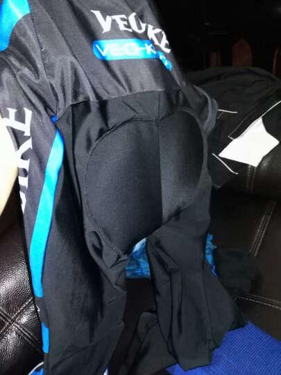 VEOBIKE 春夏季骑行服男士公路自行车骑行装备女士山地单车骑行长袖长裤速干短袖套装 红白骑士短袖组合 M 晒单图