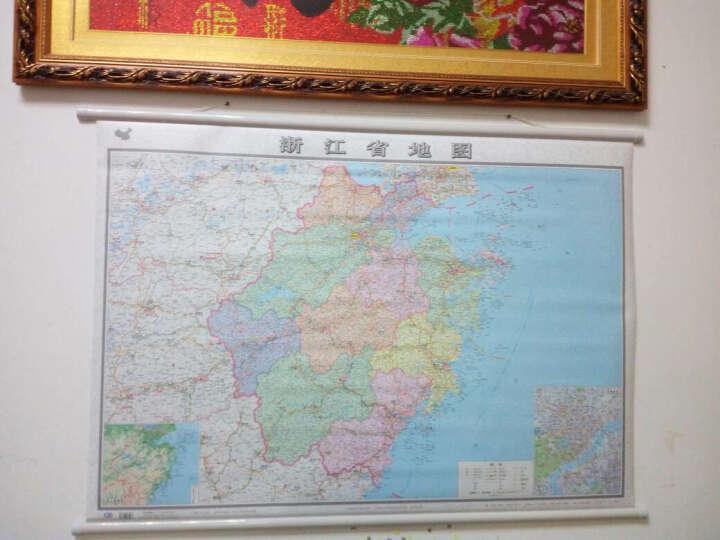 中国分省地图挂图系列·浙江省地图(全开 专业挂图) 晒单图