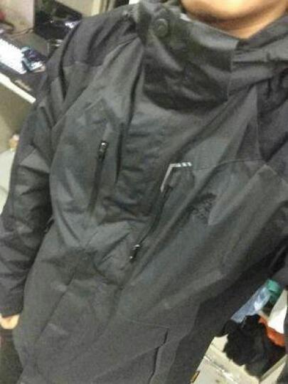 杜戛地(DZRZVD) 冲锋衣 三合一 两件套 户外服装 冲锋衣裤 男 女 迷彩服 登山服 土黄(女款) L/码 晒单图