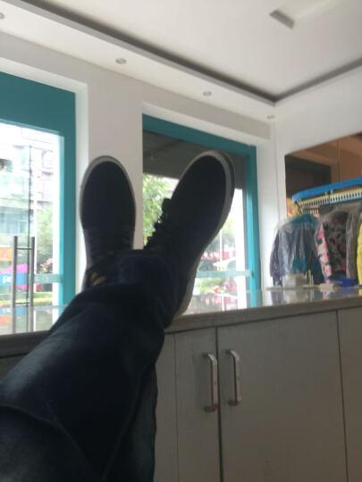 雷诺吉普网鞋男鞋休闲鞋男夏新款豆豆鞋透气板鞋情侣休闲运动鞋子男 3088男款黑色 运动码 43 晒单图