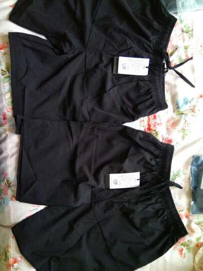 范斯蒂克(vansydical)运动套装男跑步健身服速干透气紧身衣篮球服健身房训练运动服 黑色紧身衣四件套 TC4729 S 晒单图