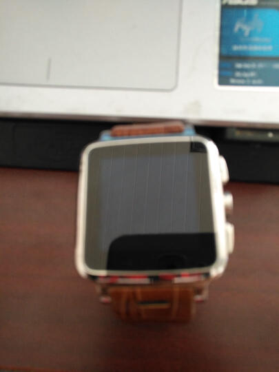 Hi-PEEL Hi5智能手表 涧金黑表带 32G 晒单图