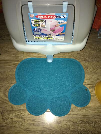 宠物脚垫子洗澡垫 门垫 猫砂盆垫 猫脚垫 蓝色 晒单图