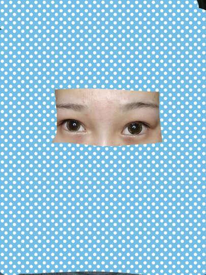 2片装】卡洛尼大直径14.5mm混血美瞳年抛 大眼女孩超薄近视隐形眼镜网红同款美瞳TC 大眼巧色 0度 晒单图