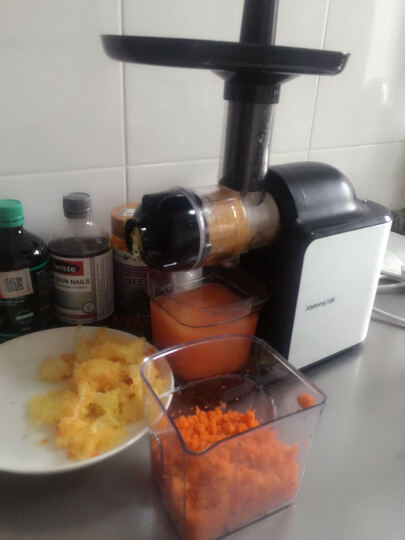 九阳(Joyoung)榨汁机慢速揉取原汁机家用果汁机JYZ-E8 晒单图