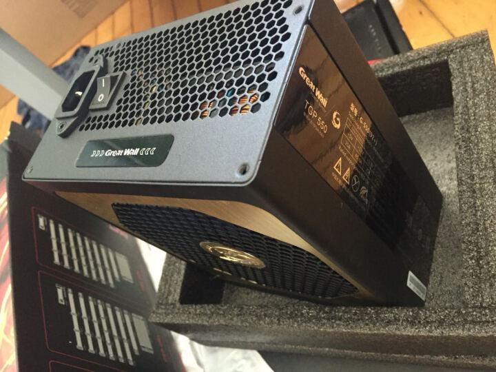 长城(GreatWall)额定550W 极致火力G-550(92+)电源(80PLUS铂金牌/全模组/14CM双滚珠风扇)  晒单图