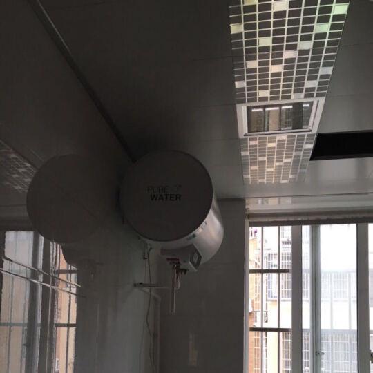 美的(Midea)F50-21W6(B)(遥控)(雅致) 50升 电热水器+上出水5升小厨宝两件套 晒单图