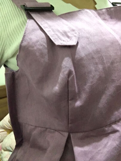 乔薇依孕妇防辐射服肚兜内穿银纤维护胎宝防辐射马甲防辐射衣服上班大码四季款 藏青色+肚兜 XL 晒单图