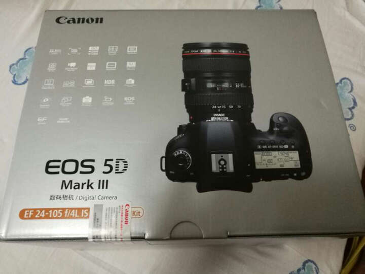 佳能(Canon) EOS 5D Mark III 单反套机(EF 24-105mm f/4L IS USM 镜头) 晒单图
