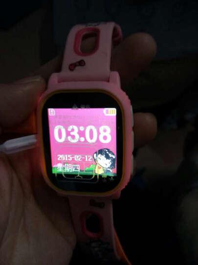mate 儿童智能电话手表手机插卡防丢失双向通话gps定位双向通话彩屏手机 美国队长 天蓝 晒单图