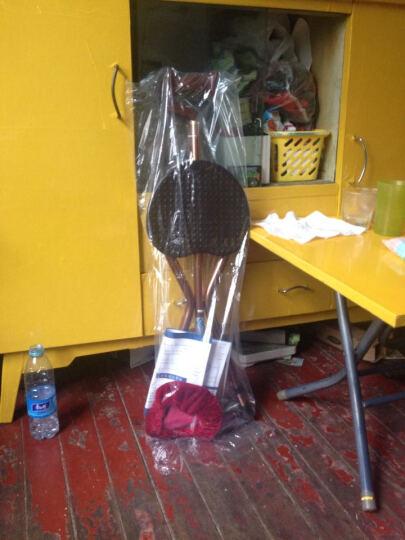雅德 拐杖凳 老人三角拐棍椅手杖带座椅助行器 咖色升级款(带灯) 晒单图