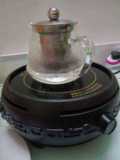 心好(xinhao)电陶炉茶炉家用迷你静音煮茶器大火力套装DTL501 金色加铁壶 晒单图