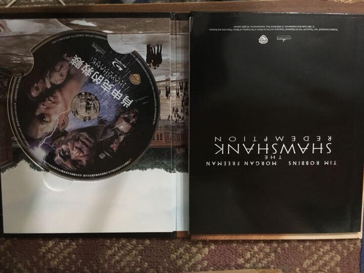 肖申克的救赎(蓝光碟 BD50)(典藏版,含豪华电影画册) 晒单图