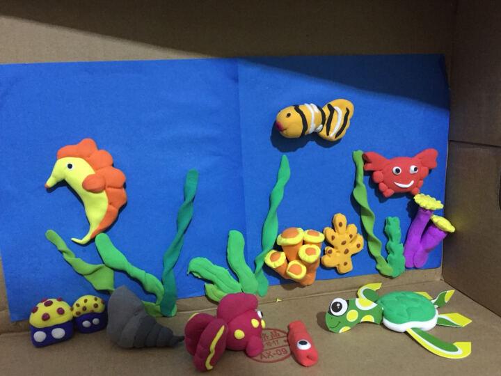 彩泥海洋动物图片