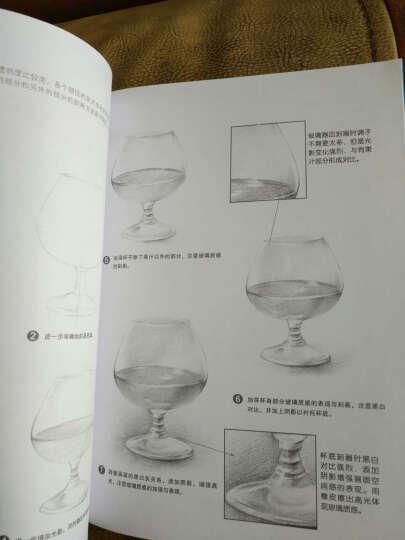 包邮赠素描课件零基础学主体发明教程美术书电子v素描反思课后自学图片