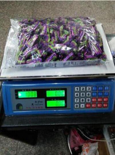 新科力 家用电子称台秤商用超市蔬菜水果台式称电子计价秤 黑字干充两用款(干电池 蓄电池均可) 晒单图