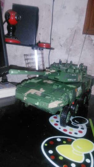 特尔博 1:22-105毫米突击炮轮式步兵战车坦克装甲车模型 军事模型 仿真合金 晒单图