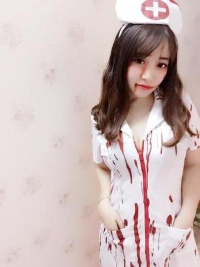 Halloween万圣节服装角色扮演cosplay成女鬼节恐怖血腥护士医生衣服F2287 F2287新款染血护士服(155-165cm) M 晒单图