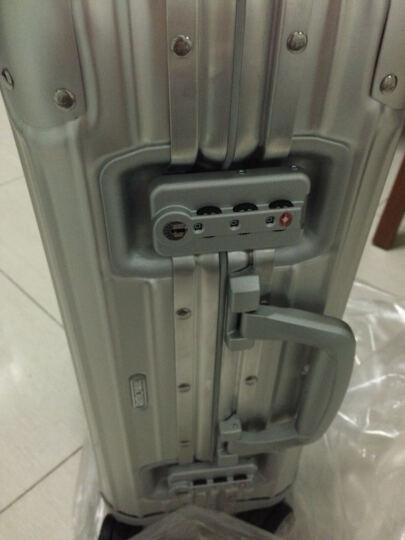 德国直邮RIMOWA日默瓦登机箱拉杆箱 旅行箱 Original银色镁铝合金21寸 晒单图