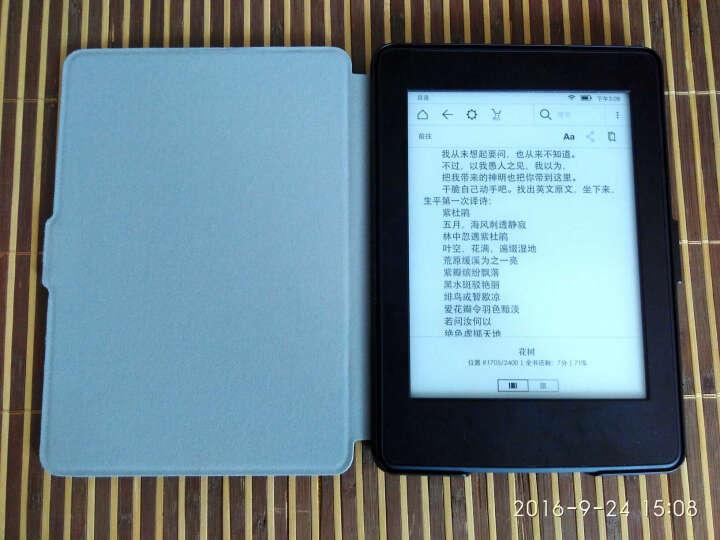 纳图森(Natusun)K5-08 适配Kindle 958版保护套/壳 Kindle Paperwhite 1/2/3代 电纸书休眠皮套 梵高-星空 晒单图