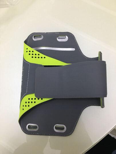 运动手臂包户外男女士健身训练跑步手机腕包触屏臂套苹果6plus臂带 荧光小号适合4.7英寸以下的 晒单图