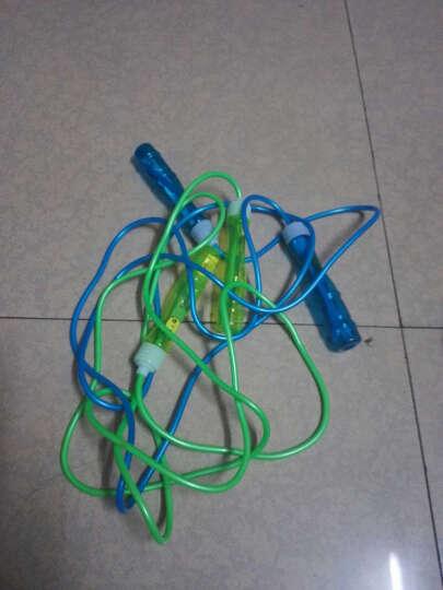 美狮龙儿童跳绳 小学生幼儿园娱乐考试可调节轴承跳绳成人糖果色跳绳健身训练减肥 清新绿 晒单图