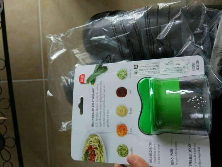 美国OXO奥秀蔬菜螺旋切丝器黄瓜切面条器 切长丝器 土豆丝切丝神器 家用面条机 厨房用品 晒单图