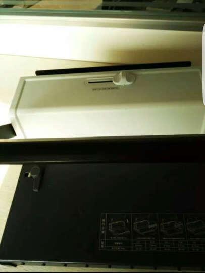 得力(deli)3889 双线铁圈文件装订机 34方孔挂历/台历打孔机 晒单图