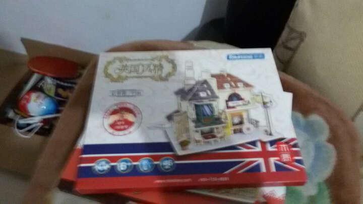 若态Robotime世界风情DIY拼装木质小屋手工房子木制模型玩具3D立体拼图益智生日礼物 美国汽车旅馆F136 晒单图