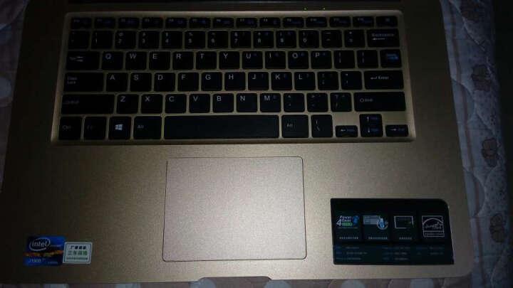 戴睿(dere) D830 14 英寸  四核轻薄笔记本电脑  娱乐学习刀锋本 土豪金 四核 高清屏  4G内存 120GSSD 晒单图