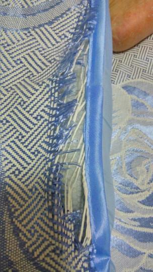 南极人家纺 加厚冰丝凉席空调席 可折叠二/三套件1.5/1.8m席子 郁金香-粉 180*198cm(三件套) 晒单图