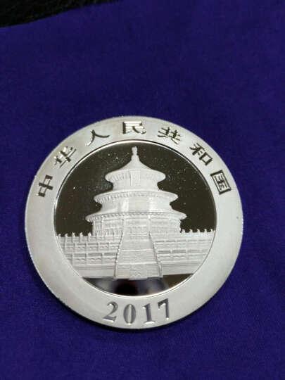 河南中钱 中国金币 2017年30克熊猫银币 15枚整版 晒单图