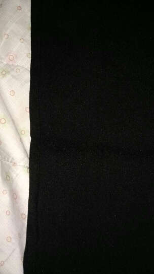 南极人打底裤女高腰修身休闲裤女小脚九分铅笔长裤子女 黑色翻领款 S(1尺8-1尺9) 晒单图