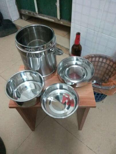 美厨(MAXCOOK) 美厨(maxcook)雅厨系列不锈钢双层保温提锅饭盒 (MCB-1.4L)双层1.4L 晒单图