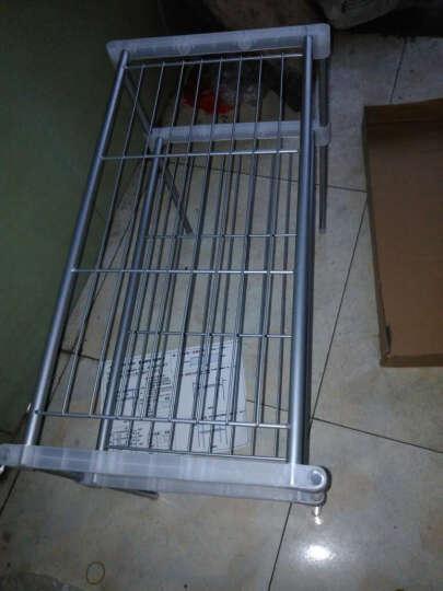 亚思特防锈喷涂微波炉层架/厨房/浴室多用途置物架/收纳架/储物架 2层置物架 晒单图