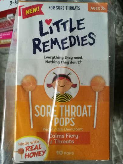 Little Colds 【香港发货】美国蜂蜜止ke棒棒糖天然顺势蜂蜜止喉痛 10支/盒 2盒 晒单图