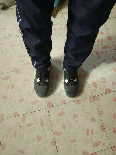 古洋城秋季男鞋气垫鞋权志龙同款韩版夏季运动休闲鞋学生板鞋青少年时尚潮鞋子透气网鞋 mz-1316-灰橙 39 晒单图
