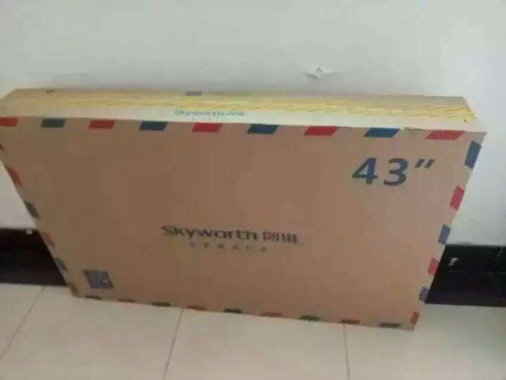 创维(Skyworth) 43X5 43英寸8核智能WIFI网络平板液晶电视(黑色) 晒单图