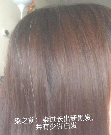 施华蔻(Schwarzkopf)怡然染发霜4.08栗子褐红棕(无氨植物)(新老包装随机) 晒单图