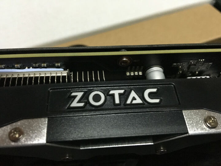索泰(ZOTAC)Geforce GTX1060-6GD5 X-GAMING OC 1569-1784MHz/8008MHz 6G/192bit GDDR5 PCI-E显卡 晒单图