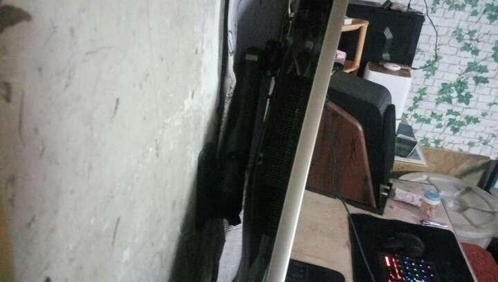 NB F200(30-40英寸)液晶显示器支架多功能壁挂显示屏支架电视架上下升降旋转伸缩架工程设备壁挂支架 黑色 晒单图