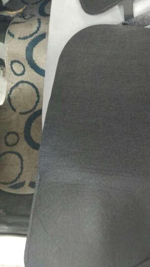 威鹰 汽车用品收纳袋车内置物袋多功能座椅后背挂袋杂物整理置物箱车载储物纸抽盒座椅防踢垫 魅力黑-单个装 晒单图
