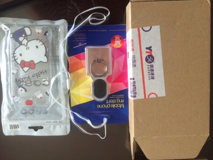 奔信 气囊防摔手机壳透明软硅胶套带挂绳 适用于苹果5S/5代/iPhone SE 22爱的天使 晒单图