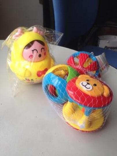婴儿五彩感官手抓球铃铛球 叮当球学爬必备 小熊可爱造型 启蒙早教玩具 手抓球健身(三件套) 晒单图