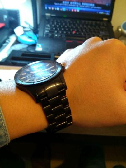 卡特文不锈钢手表带 适配摩托罗拉MOTO360一代智能手表 凹口 22MM 男士手表配件 三珠钢色 22mm 晒单图