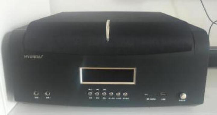【现代官方直发】现代电视音箱K歌 家庭影院组合音响套装功放机KTV卡拉OK回音壁 现代音响套装 晒单图