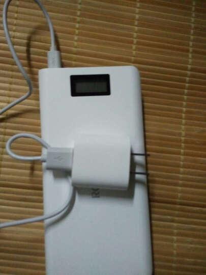 罗马仕(ROMOSS)sense6 LCD智能液晶数显移动电源/充电宝快速充电20000毫安 苹果/安卓/手机/平板通用 白色 晒单图
