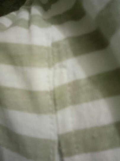 南极人(Nanjiren) 南极人宝宝2018夏季纯棉短袖套装婴儿全棉夏天衣服新款儿童童装 黑色小熊-白色 110CM 晒单图