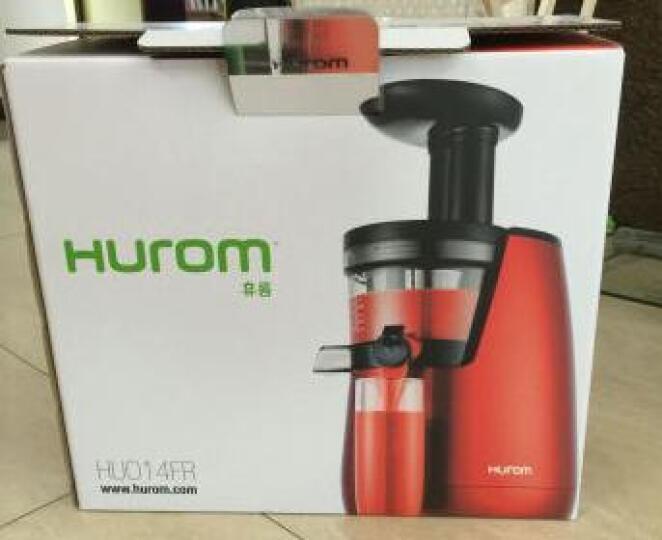惠人(HUROM) HUE21WNM第二代原汁机 进口新二代低速榨汁机多功能家用43转 晒单图